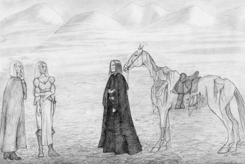 dessin cheval zombie